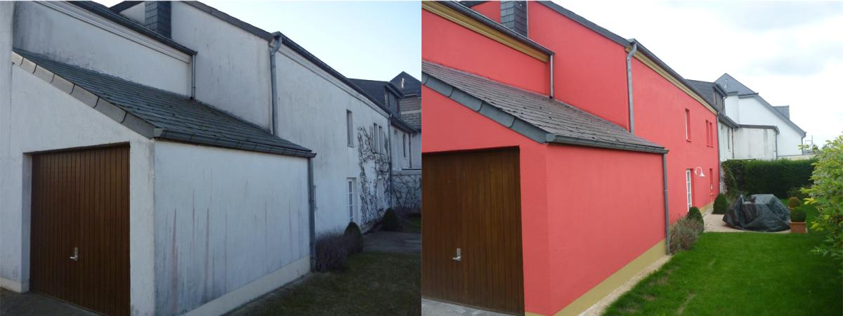 peinture facade maison gallery of couleur peinture facade. Black Bedroom Furniture Sets. Home Design Ideas